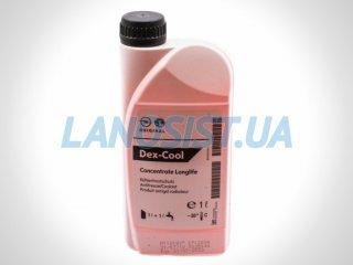 Антифриз GM G12 Dex-Cool красный концентрат 1л 1940663