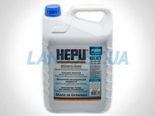 Антифриз HEPU G11 синий концентрат 5л P999005