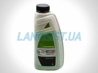 Антифриз LUXE -40 зеленый 1кг