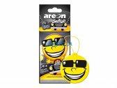 Ароматизатор воздуха Areon Smile Dry Black Crystal ASD19
