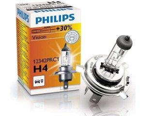 Автолампа H4 +30% Philips 12342PRC1