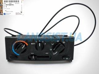 Блок управления печкой Ланос Сенс (без кондиционера) GM 93746816
