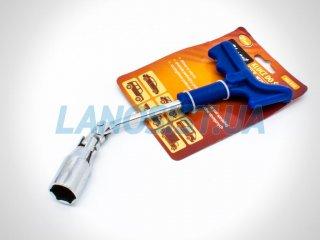 Ключ свечной усиленный 21мм Elegant 102810