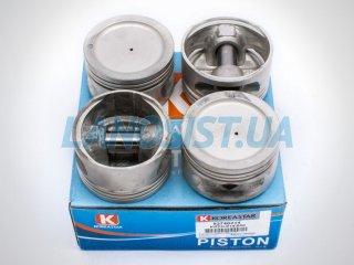 Поршни Ланос 1.5 Нексия 1.5 +0.50 Koreastar KPTD014050