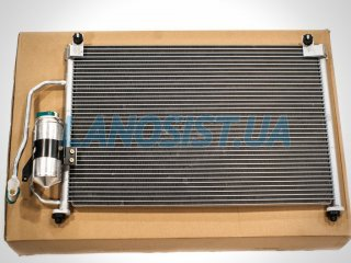 Радиатор кондиционера Ланос (с осушителем) Shin Kum 96303204