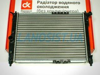 Радиатор Ланос (основной, без кондиционера) ДК 96351263