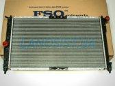 Радиатор охлаждения двигателя Daewoo Lanos (с кондиционером).
