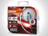 Галогенная автомобильная лампа H1 Night Breaker Laser +150% DUO BOX (комплект).