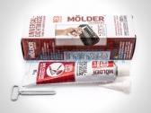 Герметик универсальный Молдер, высокотемпературный красный (85 грамм).