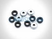 Уплотнительное кольцо (прокладка) болта клапанной крышки (алюминиевой) Ланос 1.6, Нексия 1.5-1.6 16-кл, Нубира 1.6.