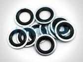 Кольцо уплотнительное соединения трубок с компрессором кондиционера Ланос, Лачетти, Такума, Эванда, Эпика.