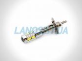 Светодиодная автолампа LED H1 линза 8xSMD(3014).