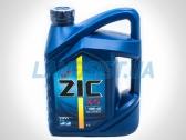 Полусинтетическое моторное масло ZIC X5 10W-40.