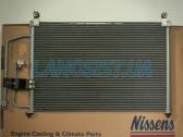 Радиатор кондиционера Daewoo Lanos (без бачка осушителя).