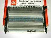 Радиатор охлаждения двигателя Ланос 1.5-1.6, Нубира 1.6-2.0 (без кондиционера).