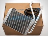 Радиатор печки (нового образца, тонкий, с ушками) Дэу Нексия с 2008г.в.
