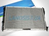 Радиатор охлаждения двигателя Daewoo Sens, Ланос 1.4 МКПП (с кондиционером).