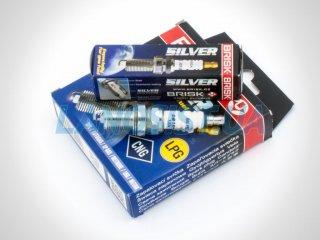 Свечи зажигания Ланос Нубира Авео Лачетти Такума 1.6 Brisk Silver DR15YS