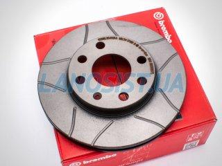 Тормозной диск Ланос 1.5 Сенс Brembo MAX 09309075