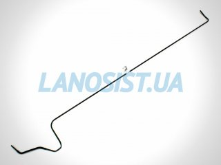 Трубка топливная Ланос Сенс GM (магистральная обратка) 96182304